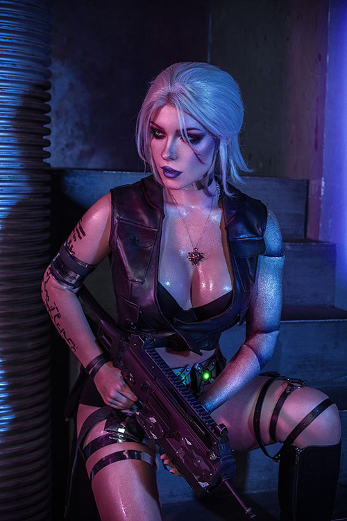 witcher-cyberpunk-cosplay-02 Cosplay - Quand The Witcher rencontre Cyberpunk #190
