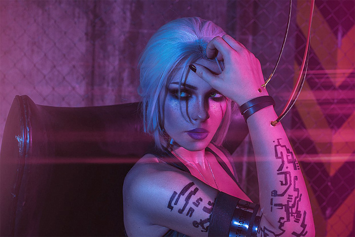 witcher-cyberpunk-cosplay-07 Cosplay - Quand The Witcher rencontre Cyberpunk #190