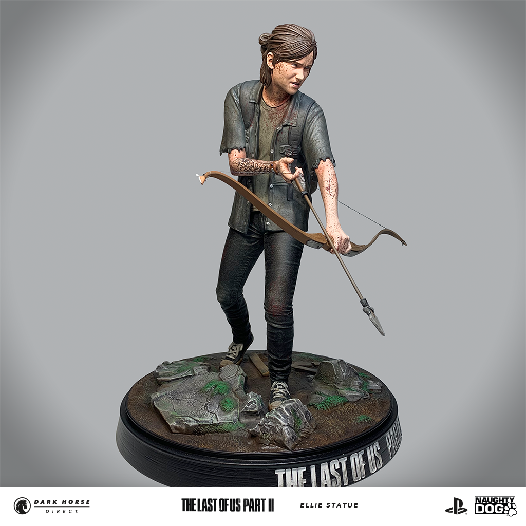 Figurine-Ellie-Last-of-Us-Dark-Horse-0002 Une figurine d'Ellie chez Dark Horse