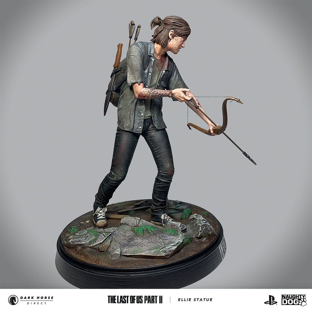 Figurine-Ellie-Last-of-Us-Dark-Horse-0003 Une figurine d'Ellie chez Dark Horse
