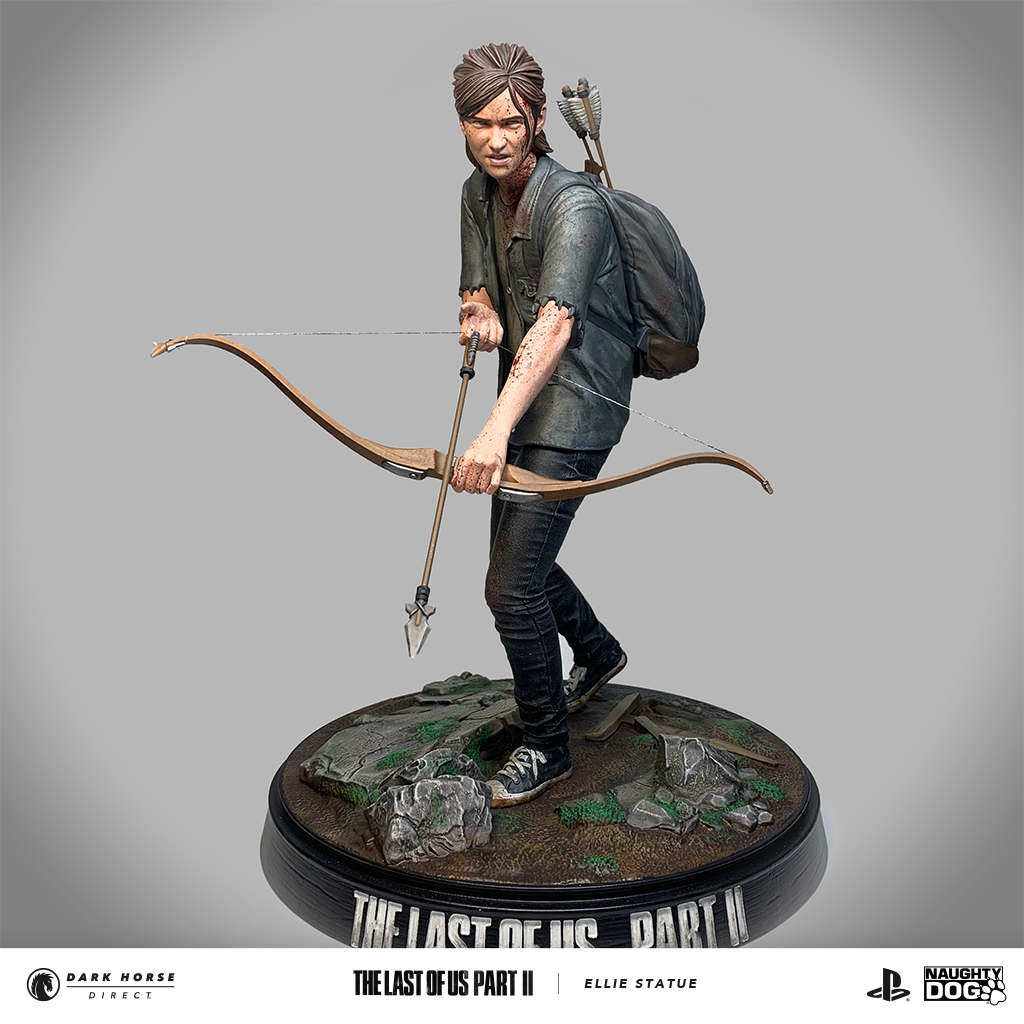 Figurine-Ellie-Last-of-Us-Dark-Horse-0004 Une figurine d'Ellie chez Dark Horse