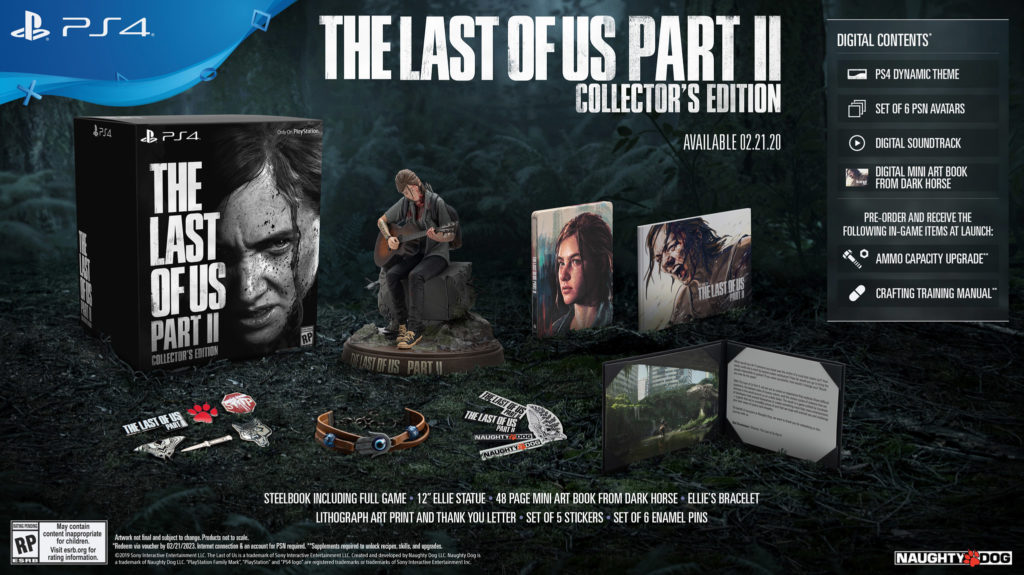 The-Last-Of-Us-Part-II-Collector-Edition-1024x575 The Last of Us Part II  - Les éditions spéciales et collector - Sortie : 21/02/2020