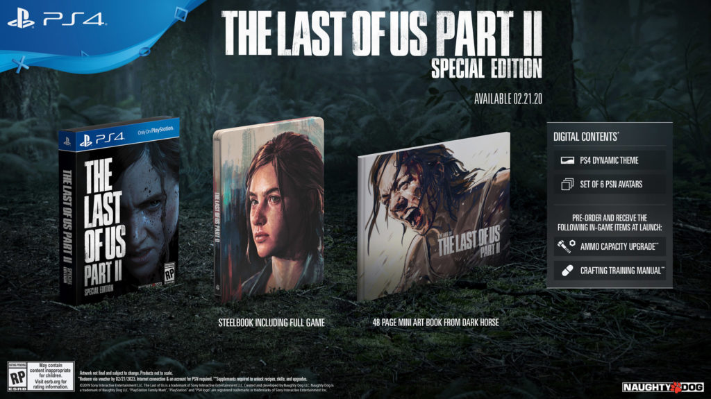 The-Last-Of-Us-Part-II-Special-Edition-1024x575 The Last of Us Part II  - Les éditions spéciales et collector - Sortie : 21/02/2020
