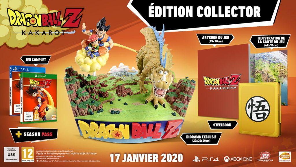 edition-collector-dragonball-z-kakarot-1024x576 Dragon Ball Z : Kakarot - Les éditions spéciales et collector