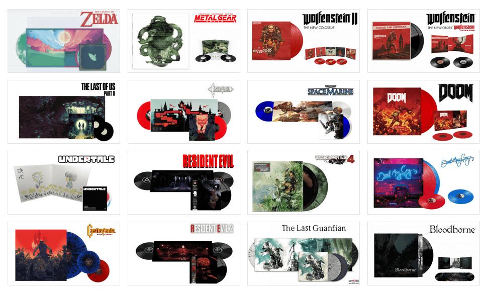image-1 Obtenir les Vinyles de vos jeux grâce à JustForGames