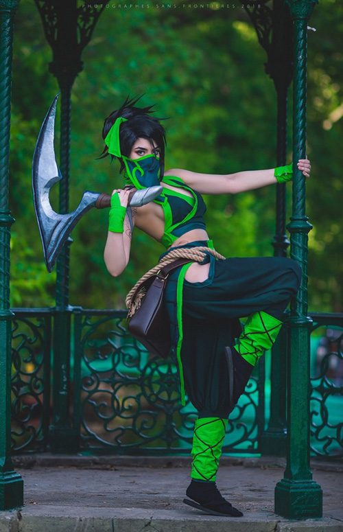 akali-cosplay-02 Cosplay - Akali - League of Legends #194