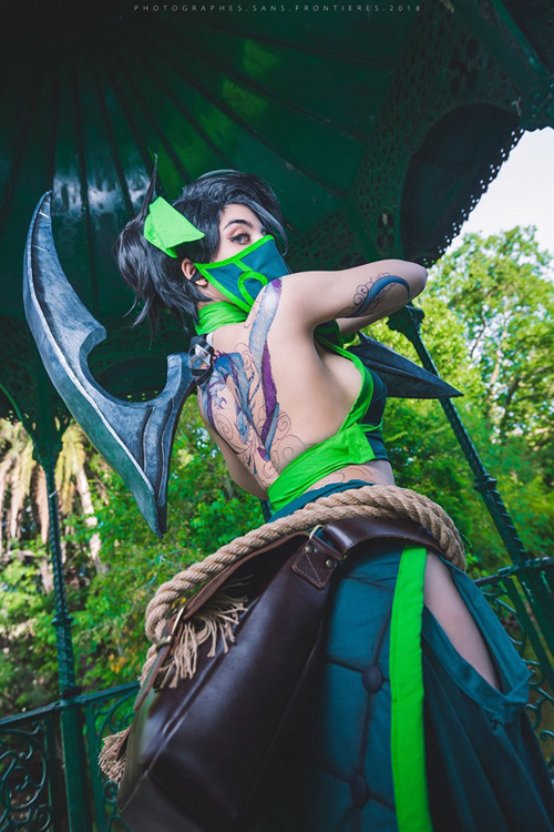 akali-cosplay-03 Cosplay - Akali - League of Legends #194