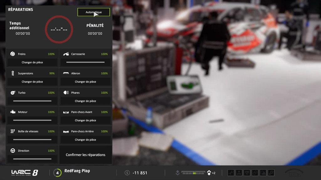 reparation-1024x576 Mon avis sur WRC 8 – Le challenger est là !