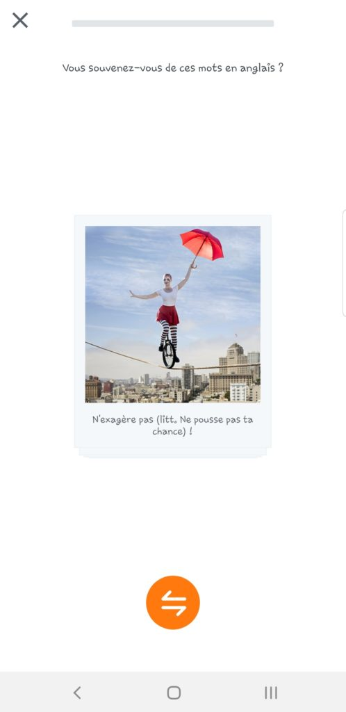 Screenshot_20191128-200938_English-498x1024 Babbel - Ou apprendre l'anglais sur son smartphone