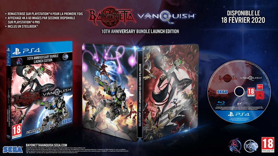 steelbook-10-anniversaire-Bayonetta-Vanquish Top 5 des infos jeux vidéo de la semaine