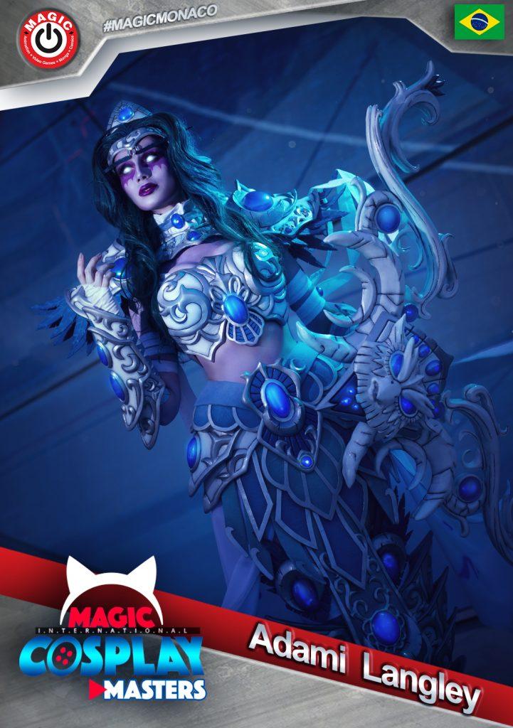 Adami-Langley-721x1024-1 RDV le 7 mars : La 6ème édition du Magic Cosplay Masters 2020