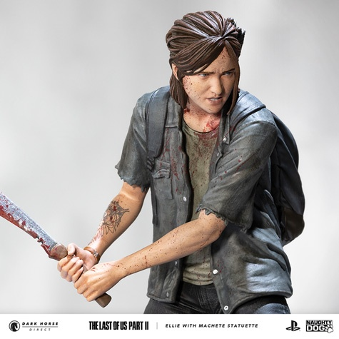 Figurine-Ellie-dans-The-Last-of-us-Part-II-photo-3 Une figurine d'Ellie chez Dark Horse (Avec Machette)
