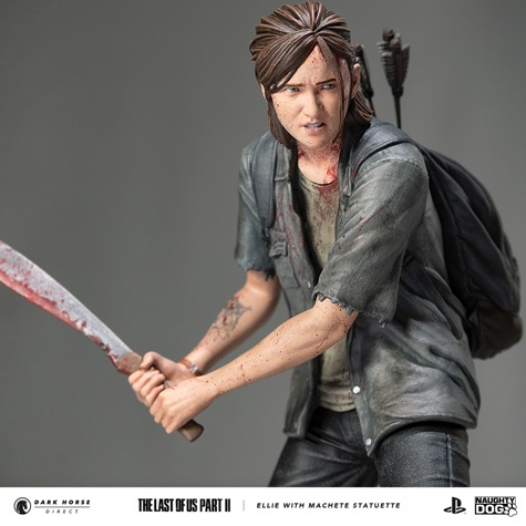 Figurine-Ellie-dans-The-Last-of-us-Part-II-photo-5 Une figurine d'Ellie chez Dark Horse (Avec Machette)