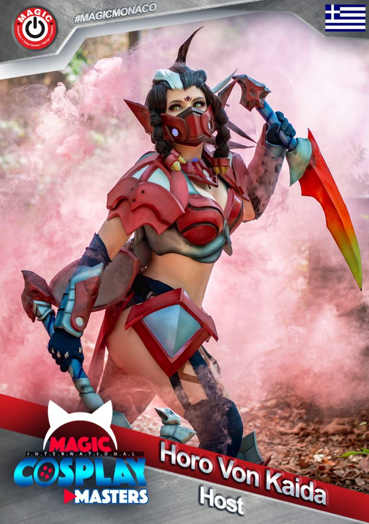 Horo-Von-Kaida-host-721x1024-1 RDV le 7 mars : La 6ème édition du Magic Cosplay Masters 2020