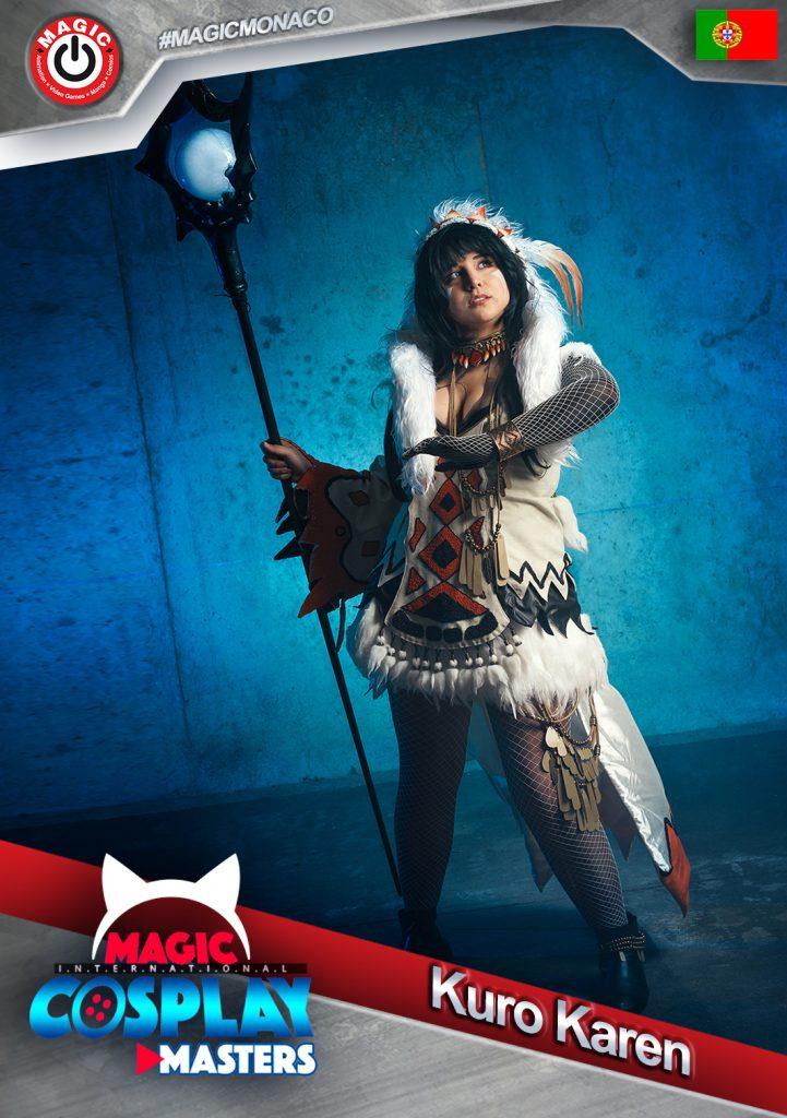 Kuro-Karen-721x1024-1 RDV le 7 mars : La 6ème édition du Magic Cosplay Masters 2020