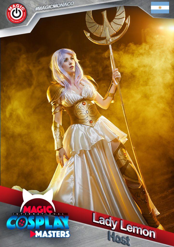 Lady-lemon-host-721x1024-1 RDV le 7 mars : La 6ème édition du Magic Cosplay Masters 2020