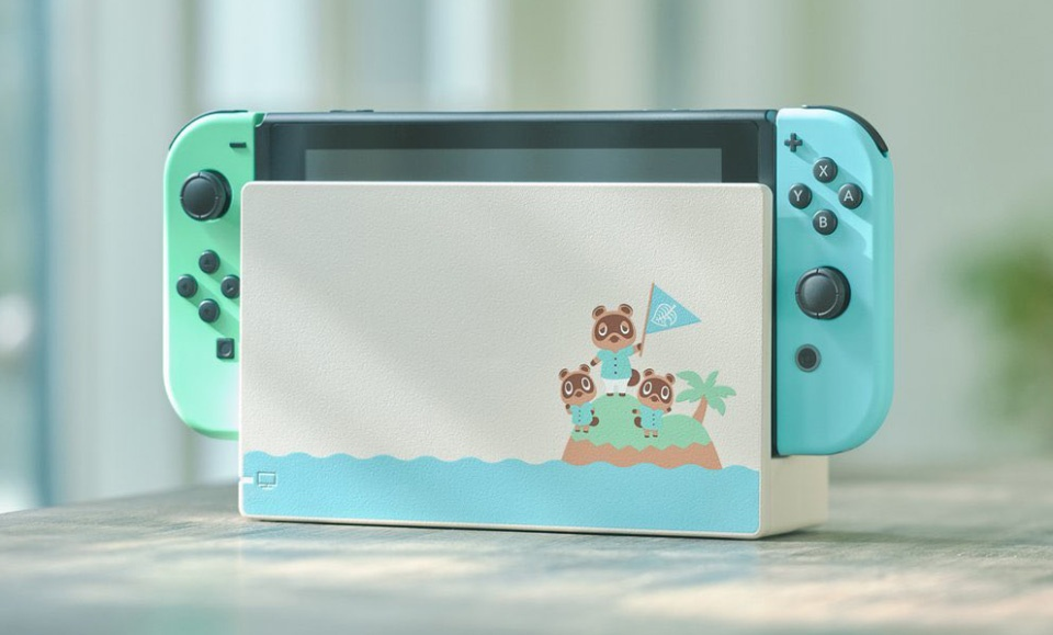 Nintendo-Switch-édition-limitée-Animal-Crossing-New-Horizons Une Switch Collector aux couleurs d'Animal Crossing (Dès 359€)