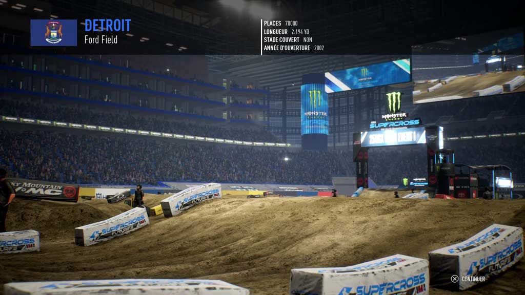 circuitIII Mon avis sur Monster Energy Supercross 3 - Attention à la chute !
