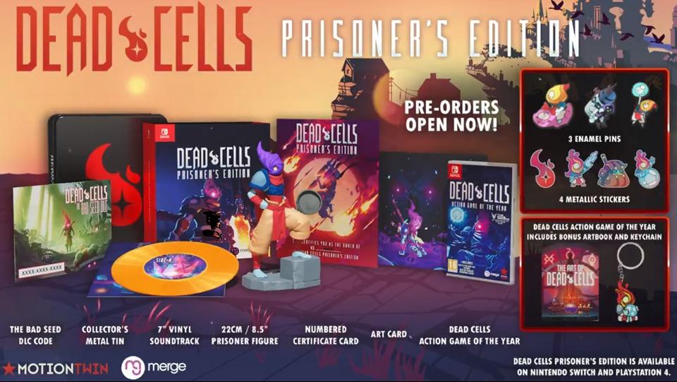 collector-dead-cells Dead Cells - Découvrez le collector Prisoner's Edition