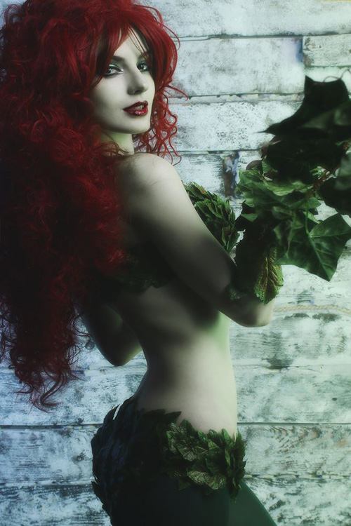 poison-ivy-cosplay-02 Cosplay - DC Comics - Poison Ivy #199