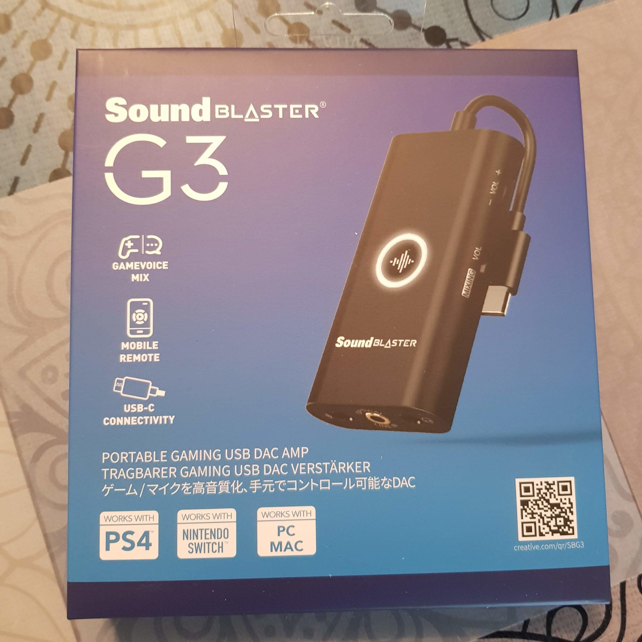 SoundBlaster - DAC G3