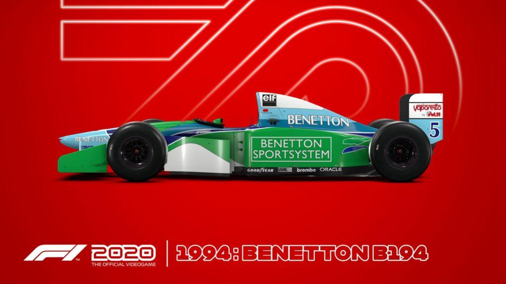 Benetton94-1024x576 F1 2020 - Les éditions spéciales et Steelbook