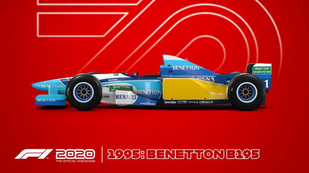 Benetton95-1024x576 F1 2020 - Les éditions spéciales et Steelbook