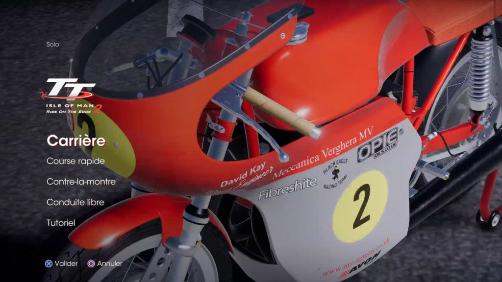 menu-carriere-1024x576 Mon avis sur TT Isle of Man - Ride on the Edge 2 - On ne change pas une équipe qui gagne !