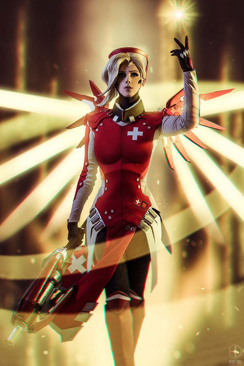 mercy-cosplay-01 Cosplay - Overwatch - Mercy #205