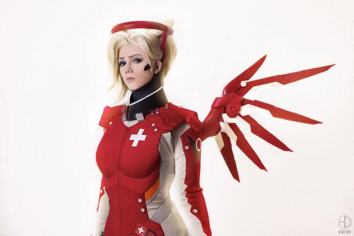 mercy-cosplay-04 Cosplay - Overwatch - Mercy #205