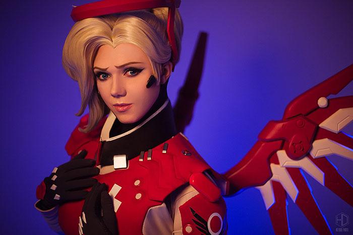 mercy-cosplay-06 Cosplay - Overwatch - Mercy #205