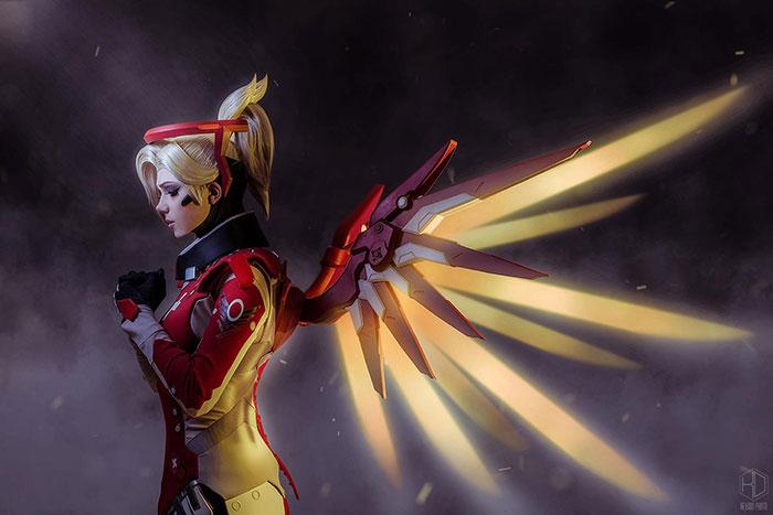 mercy-cosplay-08 Cosplay - Overwatch - Mercy #205