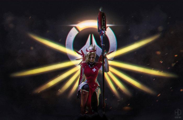 mercy-cosplay-09 Cosplay - Overwatch - Mercy #205