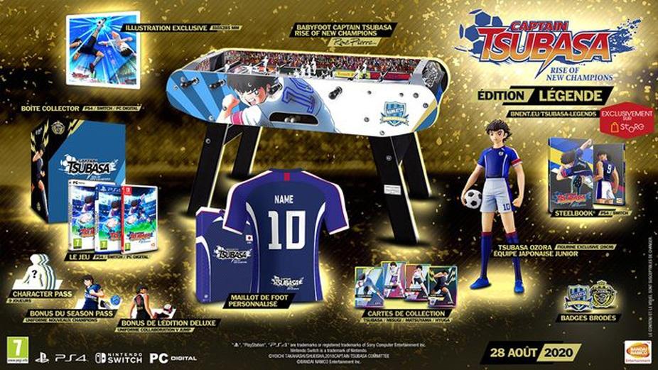3em-collector-captain-tsubasa Captain Tsubasa: Rise of New Champions - Les éditions collector - Sortie le 28 août