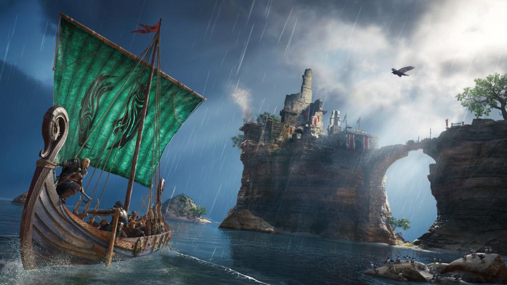 495115ea952fa8be176.20755759-ACV_screen_Announce_Drakkar_Female-Eivor_200430_5pm_CET_Paris-Time_1024x576 Assassin's Creed Valhalla dévoilé sortie en 2020