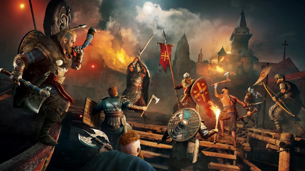 495115ea953056d25e4.21727227-ACV_screen_Announce_Raid-at-Night_Male-Eivor_200430_5pm_CET_Paris-Time_1024x576 Assassin's Creed Valhalla dévoilé sortie en 2020