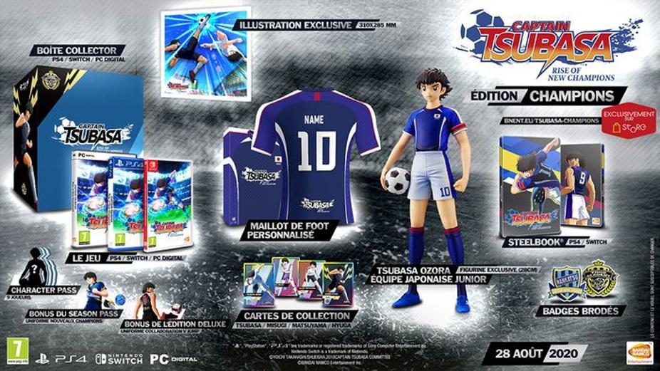 collector-legende-captain-tsubasa Captain Tsubasa: Rise of New Champions - Les éditions collector - Sortie le 28 août