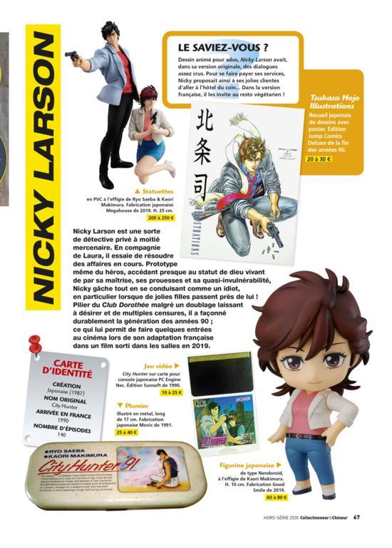 NickyLarson Découvrez 100 héros de notre enfance avec  Collectionneur&Chineur