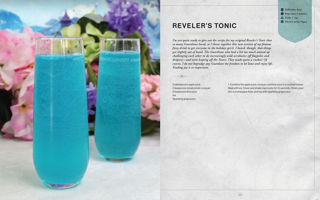 Revelers-Tonic_1024x640 Bungie et Insight Editions préparent un livre de recettes Destiny
