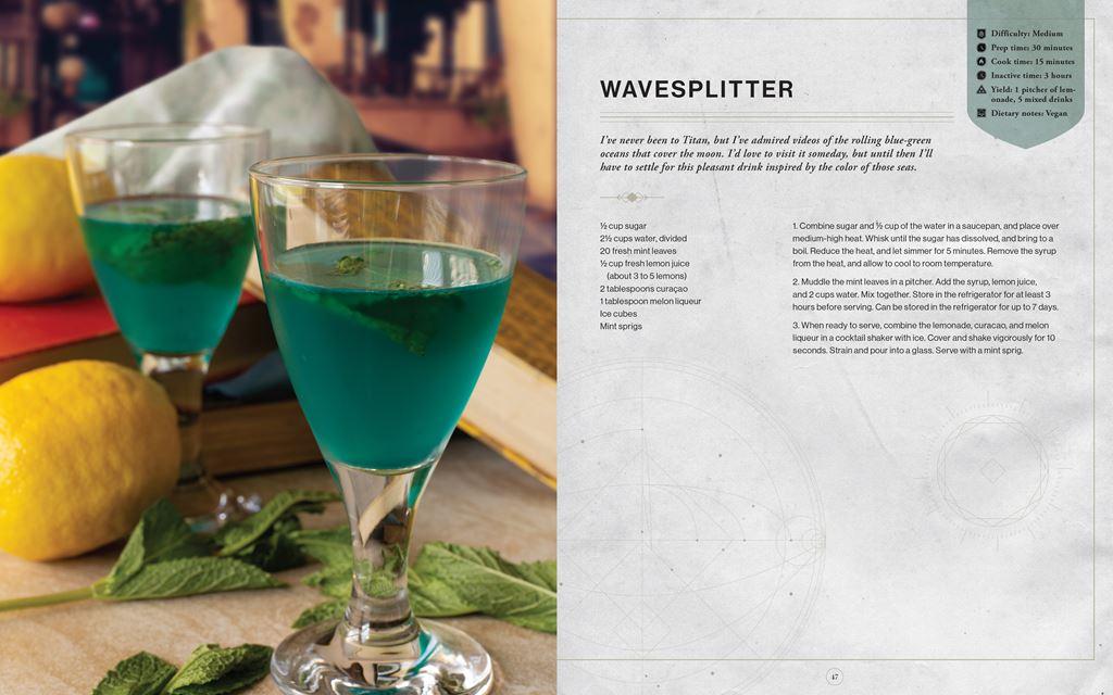 Wavesplitter_1024x640 Bungie et Insight Editions préparent un livre de recettes Destiny