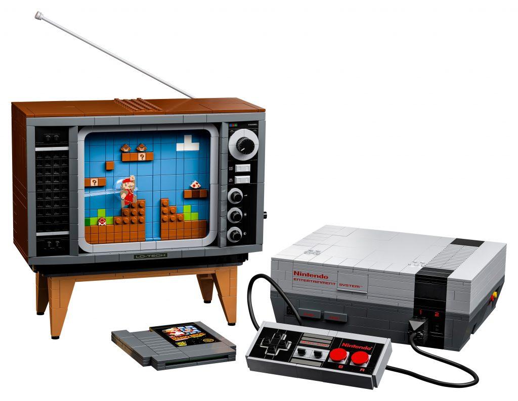 LEGO-Nintendo-Entertainment-System-set-1-1024x794 Lego - Une réplique de la NES (2646pce)