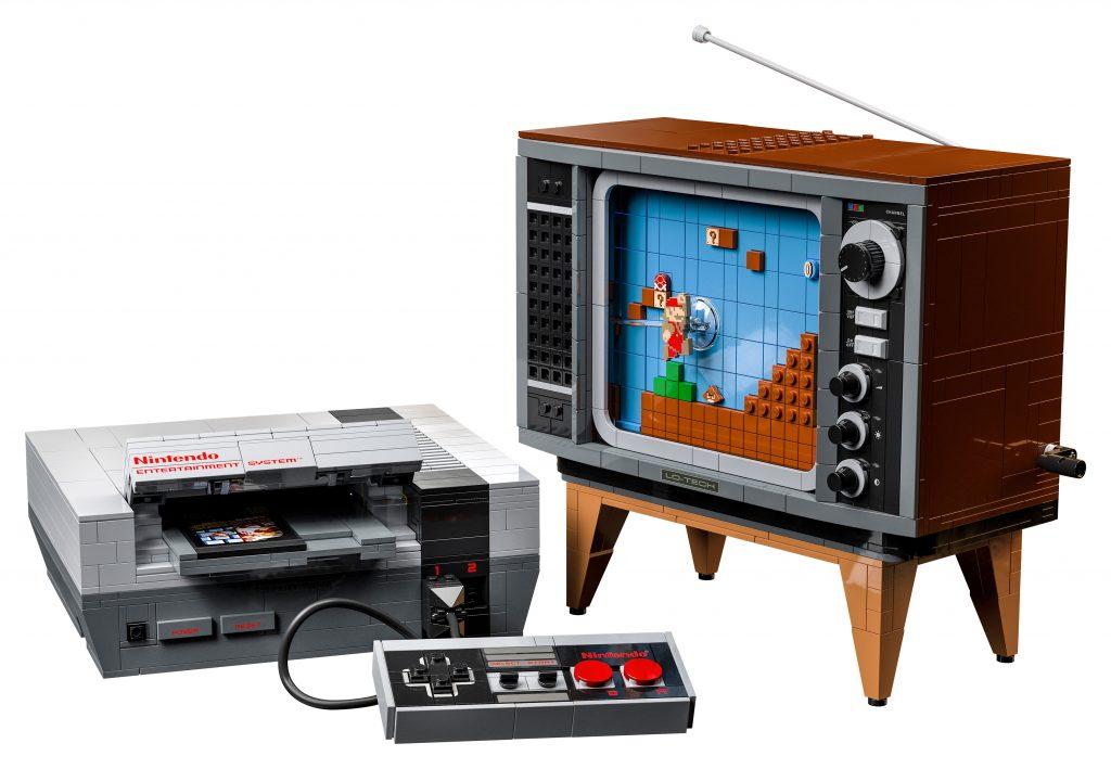 LEGO-Nintendo-Entertainment-System-set-3-1024x709 Lego - Une réplique de la NES (2646pce)