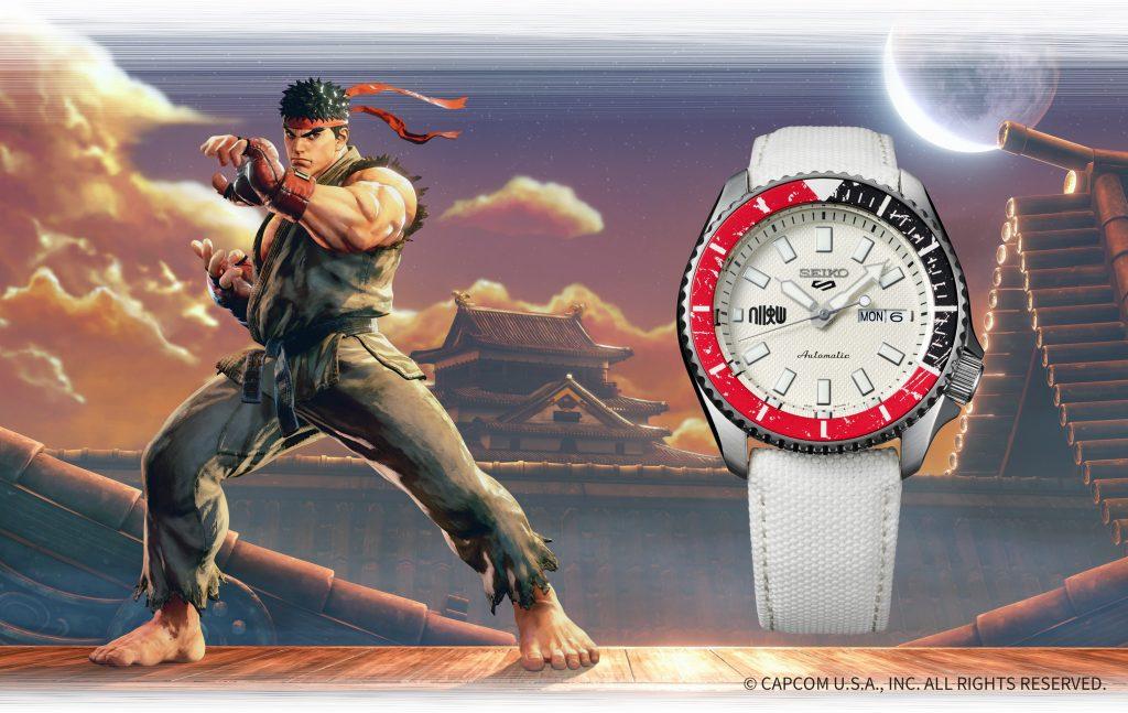 SRPF19_Ryu-1024x647 Quand Seiko 5 Sports rencontre Street Fighter V