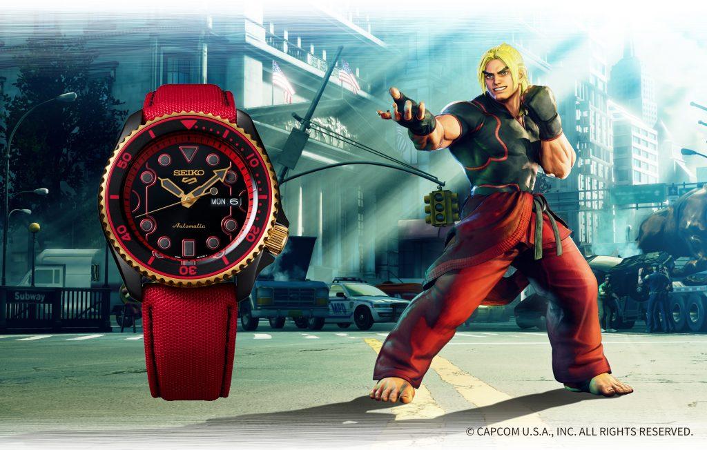 SRPF20_Ken-1024x652 Quand Seiko 5 Sports rencontre Street Fighter V