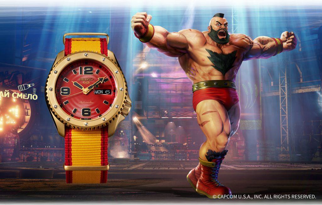 SRPF24_Zangief-1024x652 Quand Seiko 5 Sports rencontre Street Fighter V