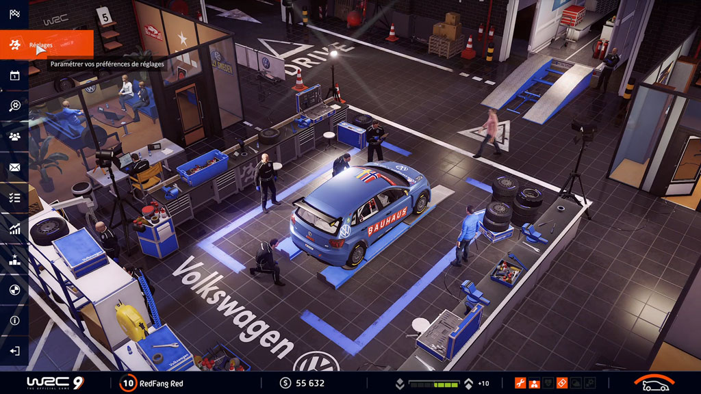 WRC9_menu_CARRIERE Mon avis sur WRC 9 - Long droit sur ciel