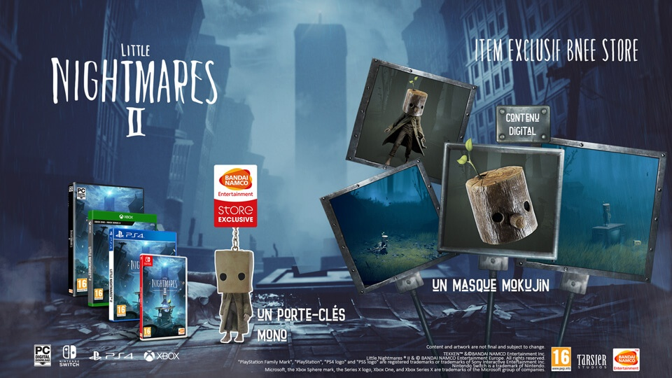 bonus-de-pre-comamnde-edition-collector-Little-Nightmares-2 Little Nightmares II présente l'édition TV