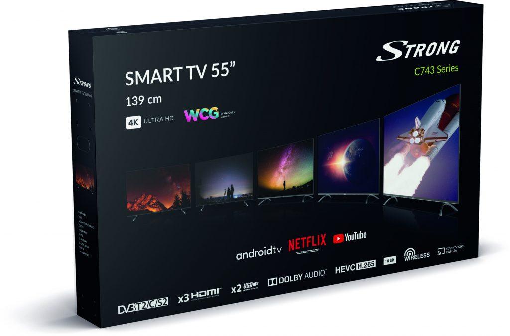 55UC7433-GB-left-HR-1024x676 Strong nous propose une expérience immersive et interactive avec 2 téléviseurs Android TV