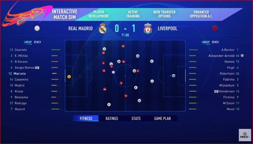 Capture Mon avis sur FIFA 21 – Ultimate arcade ?