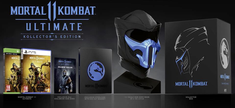 Une-edition-collector-ultimate-pour-Mortal-Kombat-11 Les sorties du mois de Novembre 2020!